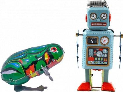 johns shop cz retro hracky sada 2 ks zabka robot 1