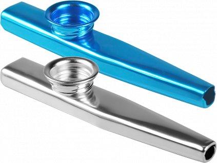 Sada 2 ks Kazoo - Modré a stříbrné