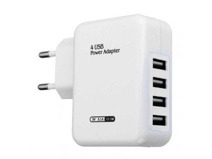5V 3 1A 4 USB Ports AC EU US Plug Travel Charger USB Power Charger Adapter 2