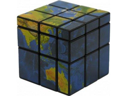 johns shop rubikova kostka mapa zeme mirror cube world map 1