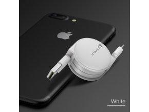 Cafele Retractable Micro USB Cable 1 m Longitud M xima para Android Puerto Micro USB Del (5)