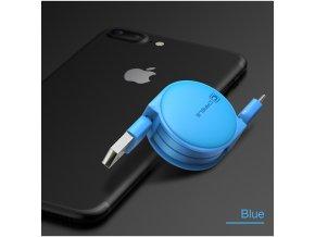 Cafele Retractable Micro USB Cable 1 m Longitud M xima para Android Puerto Micro USB Del (4)