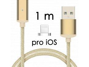 johns shop magneticky kabel m2 zlaty 1m pro ios