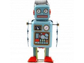 johns shop plechovy retro robot dekorace 1