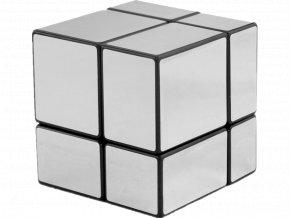 Rubikova kostka - Zrcadlová - 2x2x2 - Stříbrná