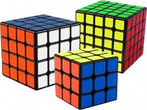 Rubikova kostka sada 3x3x3, 4x4x4 a 5x5x5 John's Shop