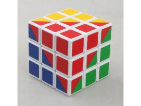 X cube Most Difficult 3X3X3 56mm Magic Speed Cube Four Colors Magic Cube (1)