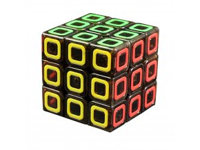 New Qiyi Xin Ciyuan Transparent Black 3x3x3 Mo Fang Ge Magic Cube