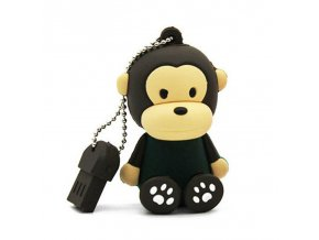 Qixing Promotions Cartoon Cute Monkey USB Flash Drive 32GB 16GB 8GB 4GB USB2 0 Stick External