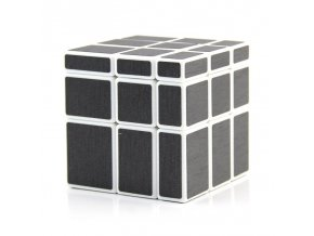 3x3x3 mirror block carbon fiber sticker magic cube puzzle speed cube 57 mm toy gift (1)