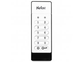 Original FAT32 MLC Netac U618 16GB 32GB USB 2 0 Flash Drive Keypad Lock AES 256