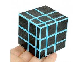 John's Sop Rubikova kostka 3x3x3 Mirror Cube Modrý podklad