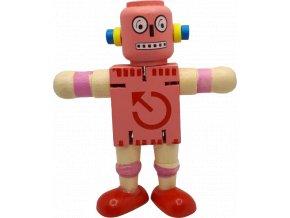 johns shop robot ruzovy 1