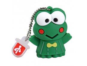 SHANDIAN cartoon cute frog model usb 2 0 4GB 8GB 16GB 32GB 64GB pen drive USB