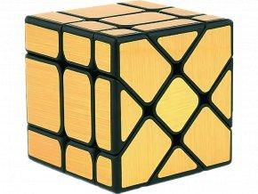 Rubikova kostka - Mirror Cube - Zlatá - Fisher