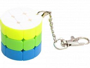 Rubikova kostka - Přívěsek na klíče - Válec