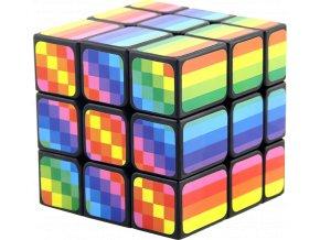 johns shop rubikova kostka mirror cube duhova gay pride rainbow 1