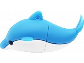 johns shop usb flash disk delfin modry 1