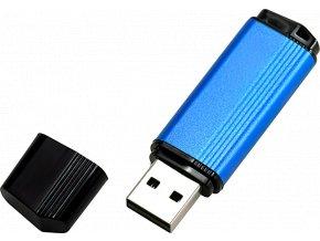 johns shop usb flash disk ceno metalicky modry 1