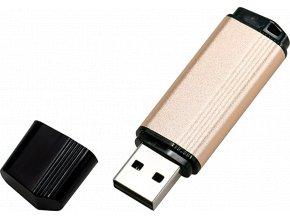 johns shop usb flash disk ceno metalicky bezovy 1