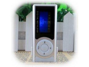MP3 - Typ 4 - Šedá - S displejem, reproduktorem a svítilnou