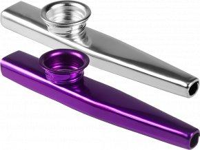 Sada 2 ks Kazoo - Fialové a stříbrné