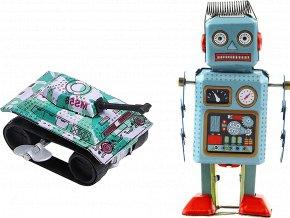 johns shop cz retro hracky sada 2 ks tank robot 1