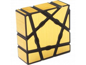 Rubikova kostka - Mirror Cube - Zlatá