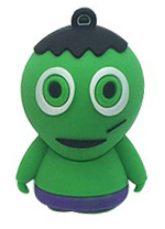 Flash disk - 16 GB - Hulk - USB 2.0 - Halloween