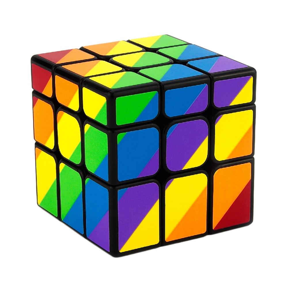 Rubikova kostka (Mirror Cube) - Duhová - 3x3x3