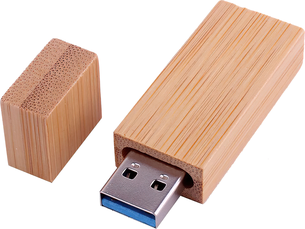 USB Flash disk - Dřevěný - 32 GB - USB 3.0 - Bambus