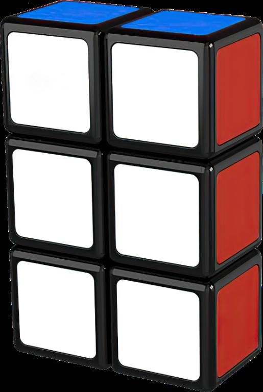 Rubikova kostka - Plochá - 1x2x3