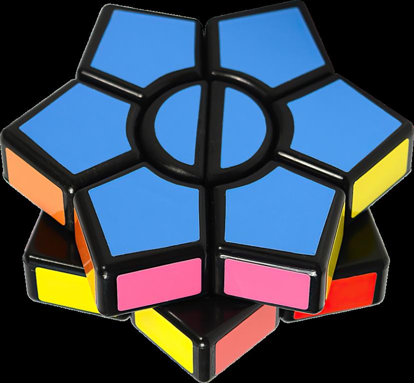 Rubikova kostka - Kytka