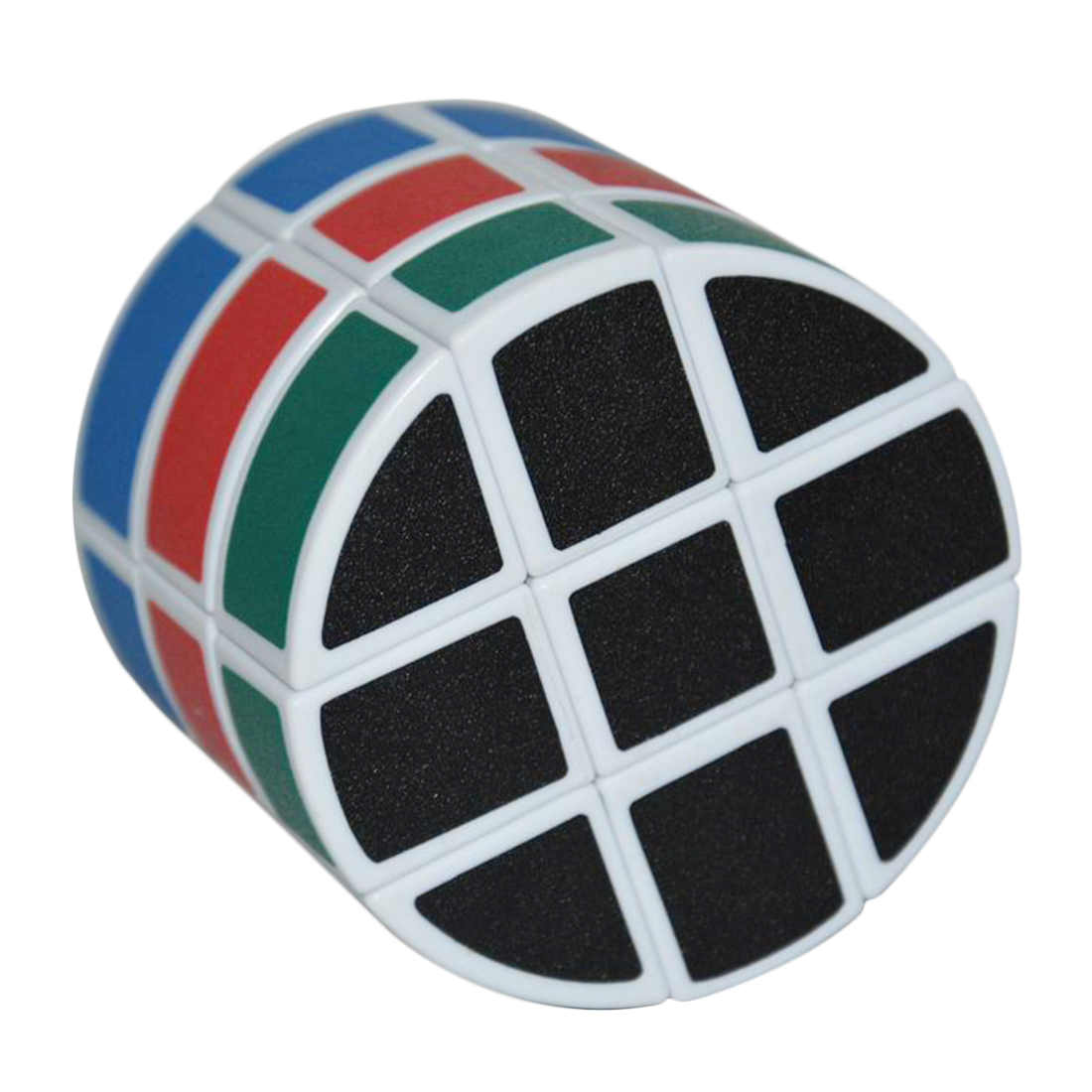 3x3x3 - Rubikova kostka - Válec - Bílý
