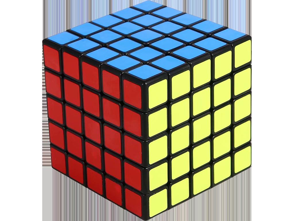 Rubikova kostka - 5x5x5 - Černá