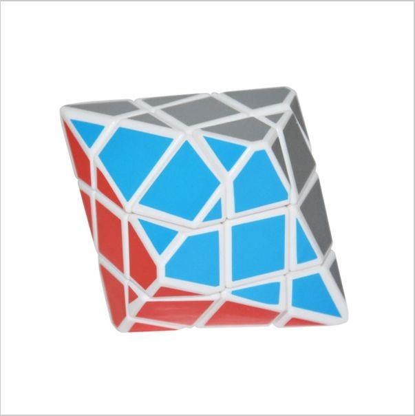 Rubikova kostka - Diamant - DiPyramida - bílý podklad