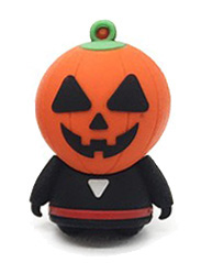 Flash disk - 32 GB - Dýňová hlava - USB 2.0 - Halloween