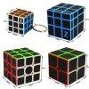 John's Shop Sada Rubikových kostek Černých s přívěskem 2