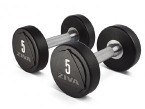 zvo solid steel urethane dumbbell set 12 20 kg 10 pair 160 kg