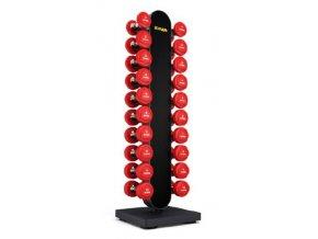 ex 1 10kg vertical studio dumbbell rack