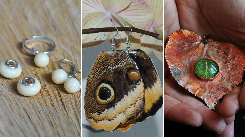 Šperky z mateřského mléka nebo motýlů? Češky vyrábějí klenoty, které ve zlatnictví nekoupíte