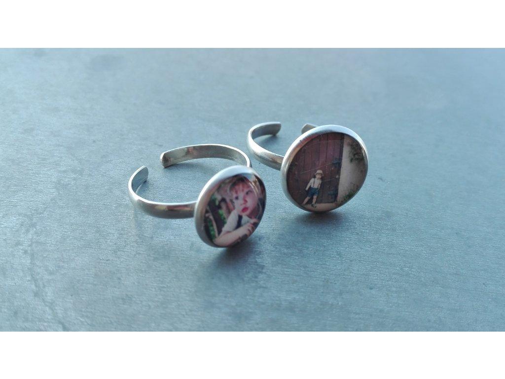 Prsten - ocelový