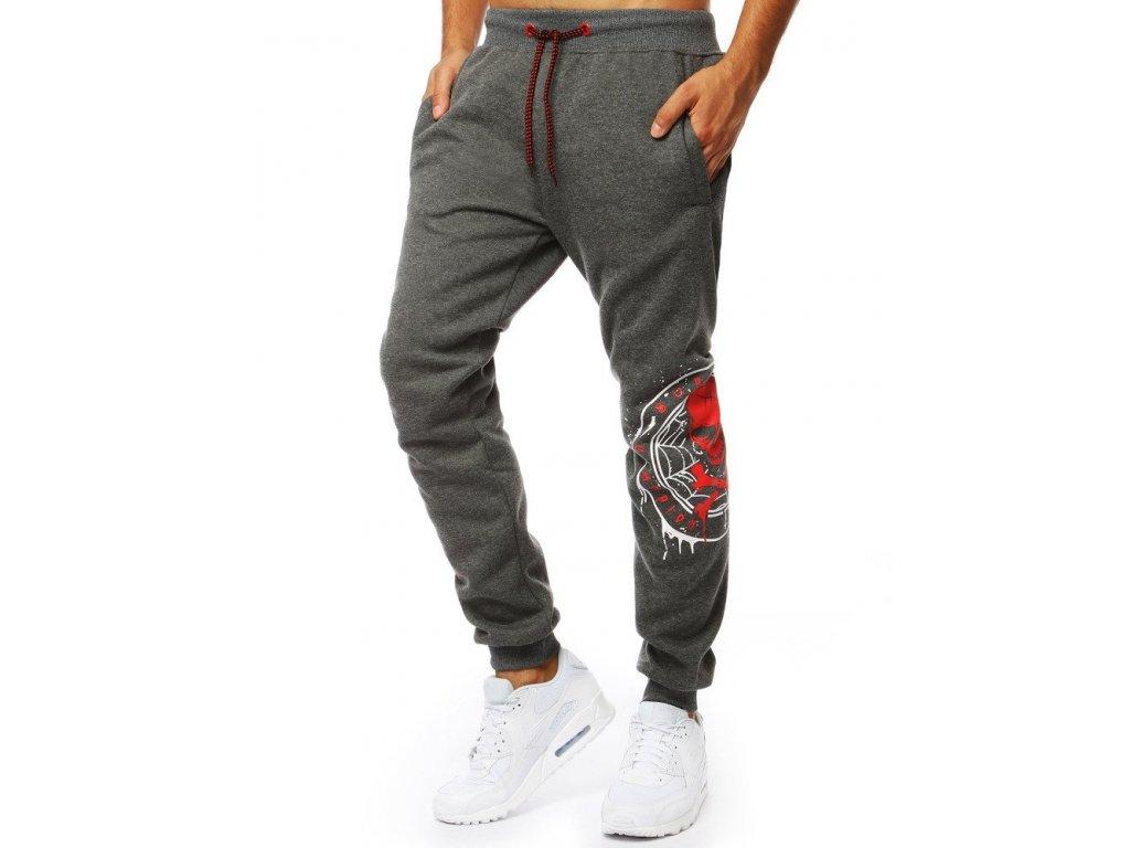pol pl Spodnie meskie dresowe joggery antracytowe UX2050 24389 1