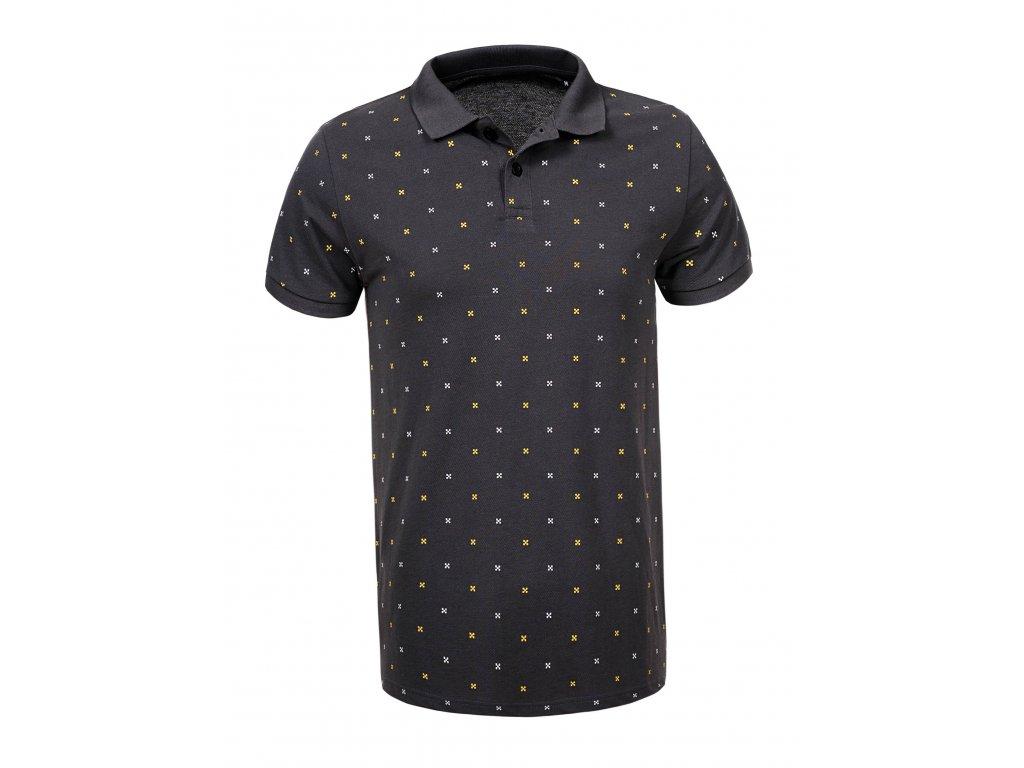men s knitted short sleeve polo shirt (2)