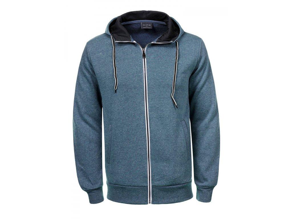 men s knitted zipper pullover