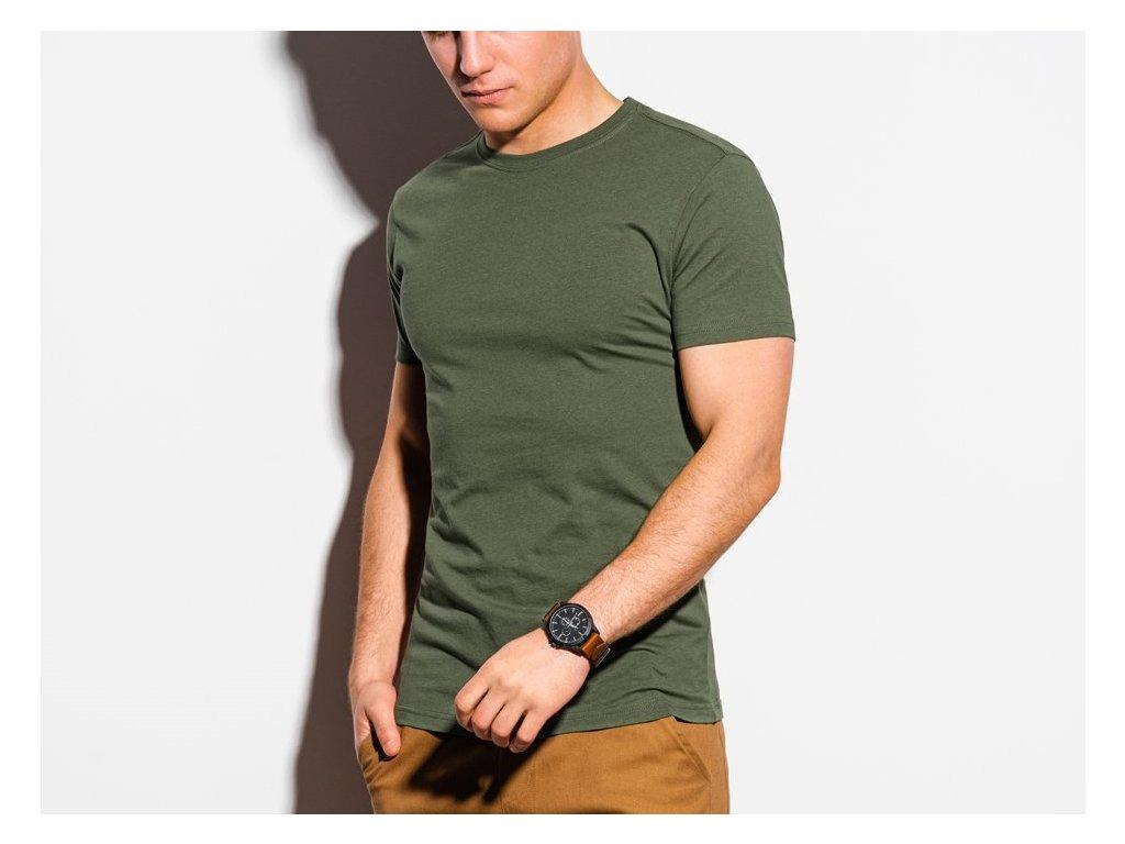 eng pl Mens plain t shirt S1370 khaki 18533 3