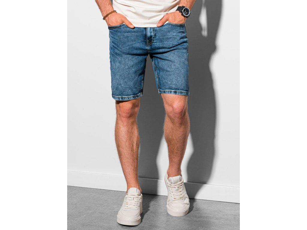 eng pl Mens denim shorts W308 blue 19502 1