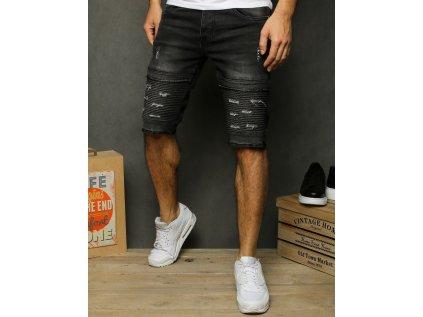 pol pl Spodenki meskie jeansowe czarne SX1202 28835 1