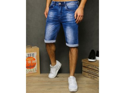 pol pl Spodenki meskie jeansowe niebieskie SX1218 28850 1