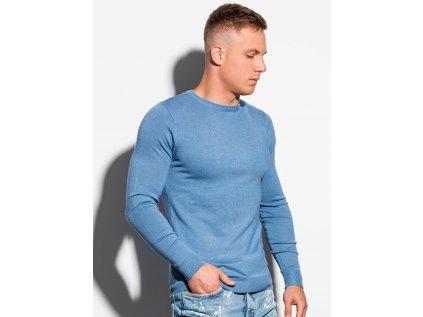 eng pl Mens sweater E177 light blue 16373 3